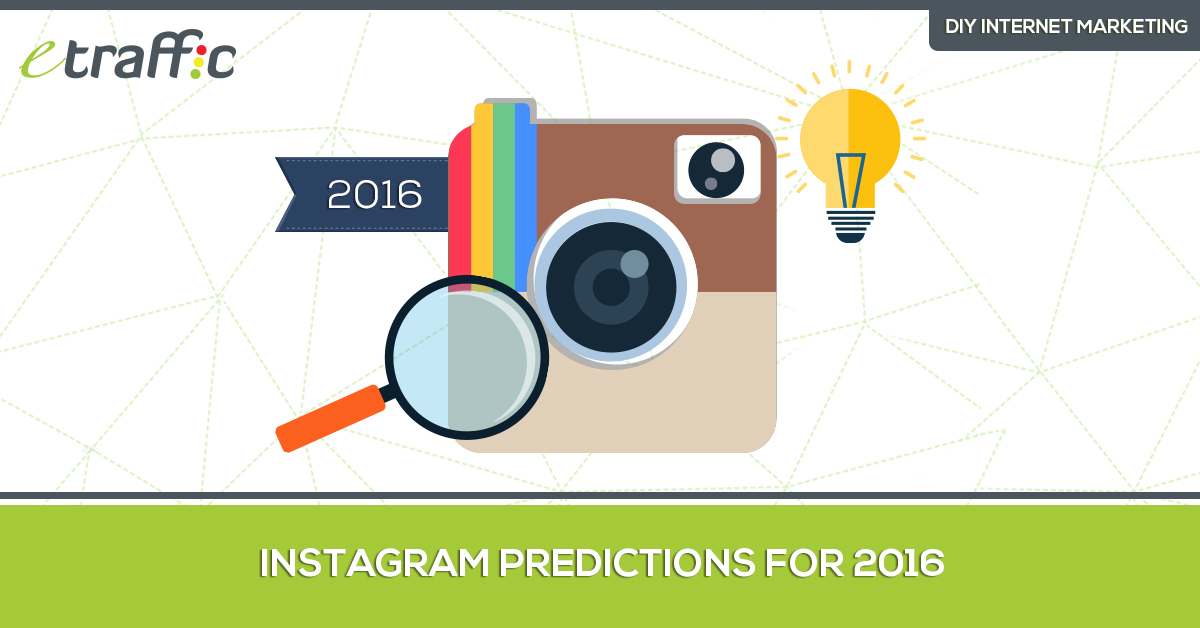 Instagram predictions for 2016