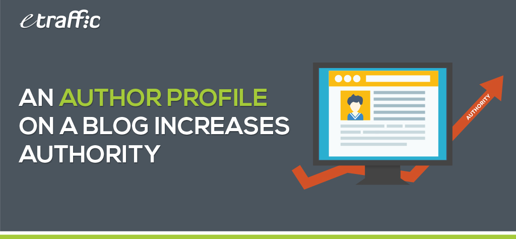 An Author Profile on a Blog Increases Authority