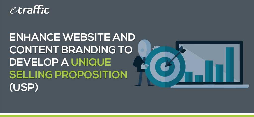 develop a unique selling proposition