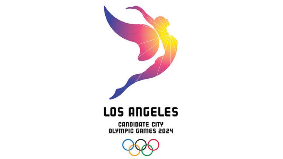 LA 2024 Summer Olympics bid official logo