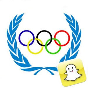 Olympic Movement and Snapchat logo