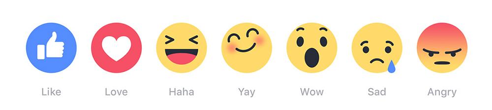 Facebook Like emoticons