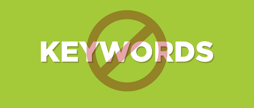 Google abandoned keywords as ranking factor