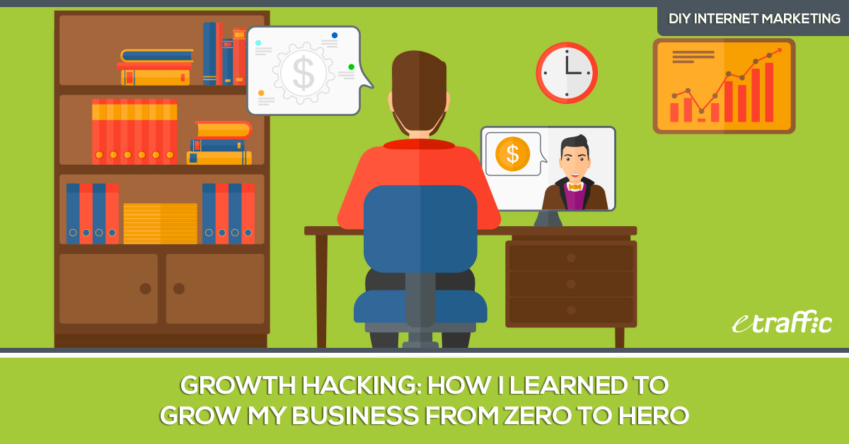 Growth Hacking - How I Learned to Grow My Business from Zero to Hero