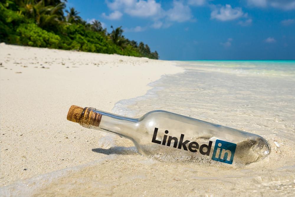 LinkedIn in a bottle