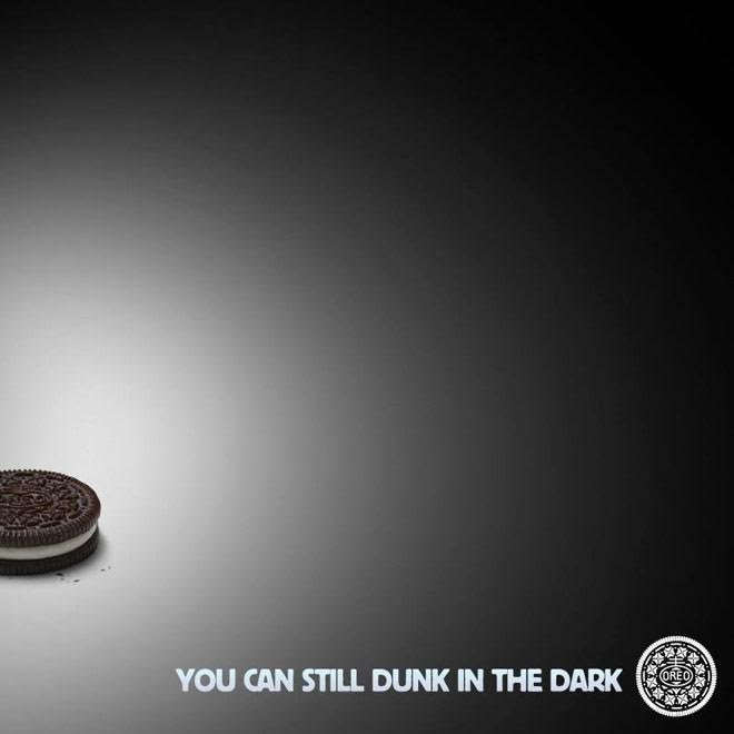 Oreo to dunk in the dark