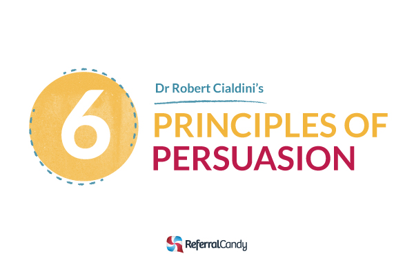 Robert Cialdini's 6 Principles of Persuasion