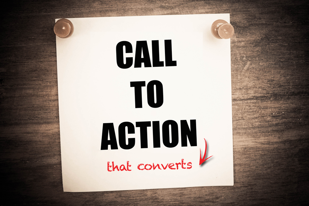 attention grabbing call to action