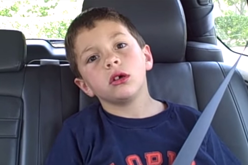 David after Dentist video screengrab