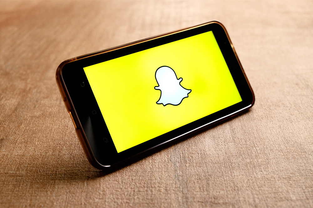 Snapchat on mobile