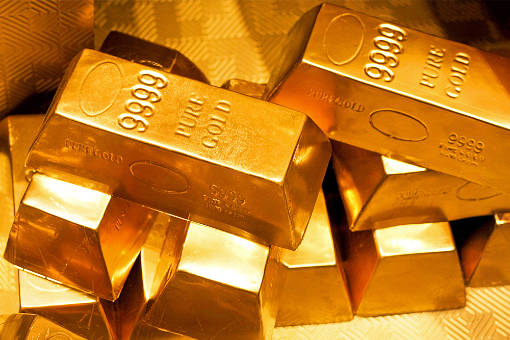 genuine gold bars
