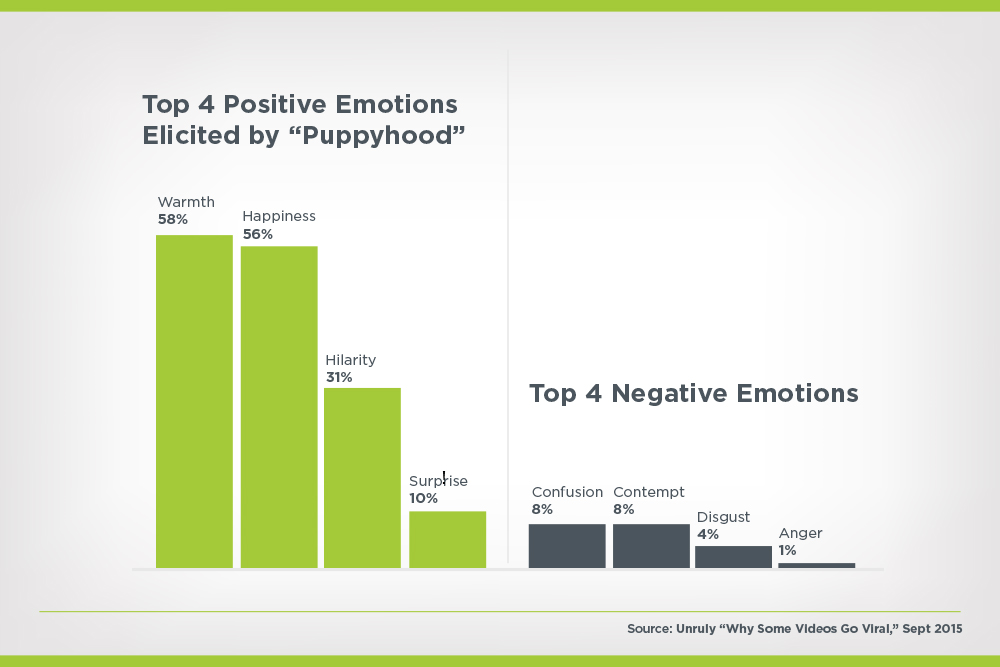 top positive and negative emotions