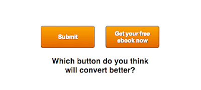 comparing two cta buttons