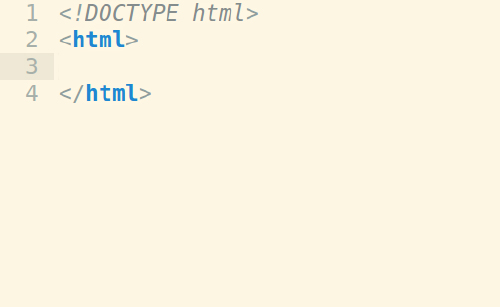 doctype with html block