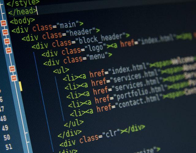 website line of codes