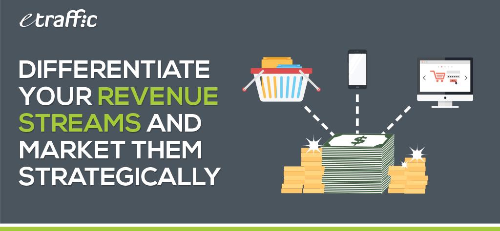 Differentiate Revenue Streams & Market Effectively