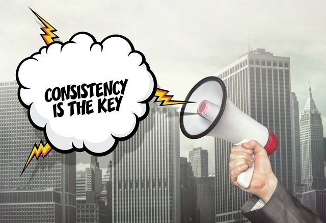 consistent content pattern is the key