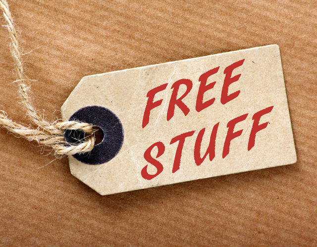 engage customers with free stuff