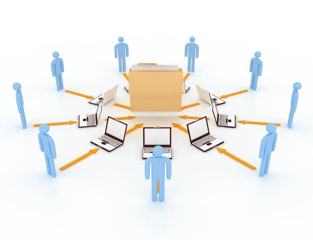 how humans access web content