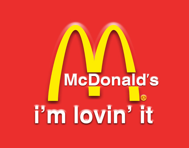 McDonald's brand message - i'm lovin' it