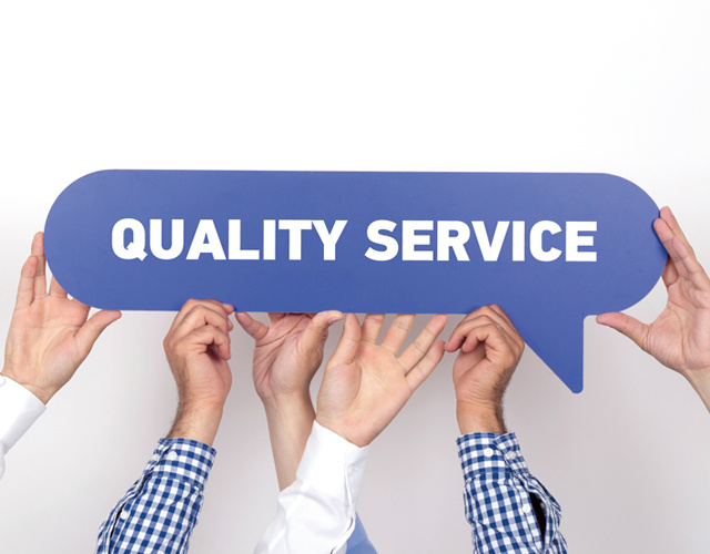 Quality Service makes difference