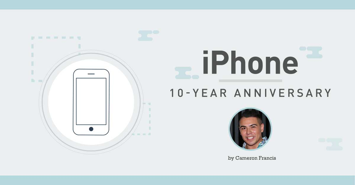 iphone 10 year anniversary