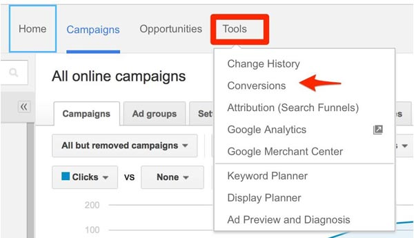 google adwords setting campaigns