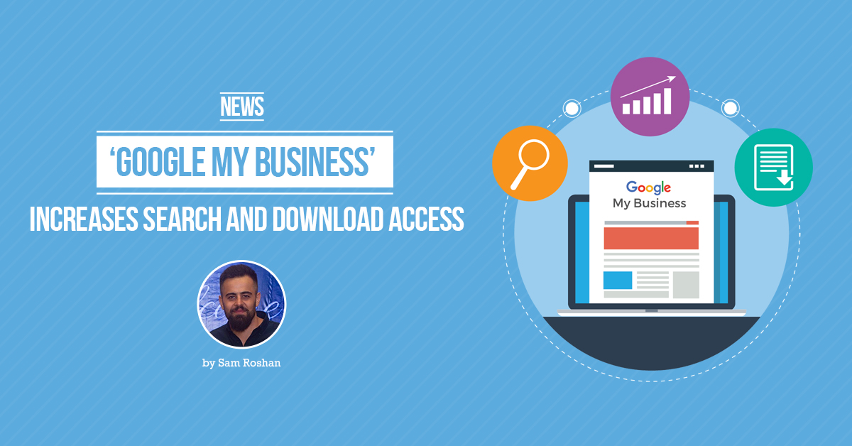 google my business search download access