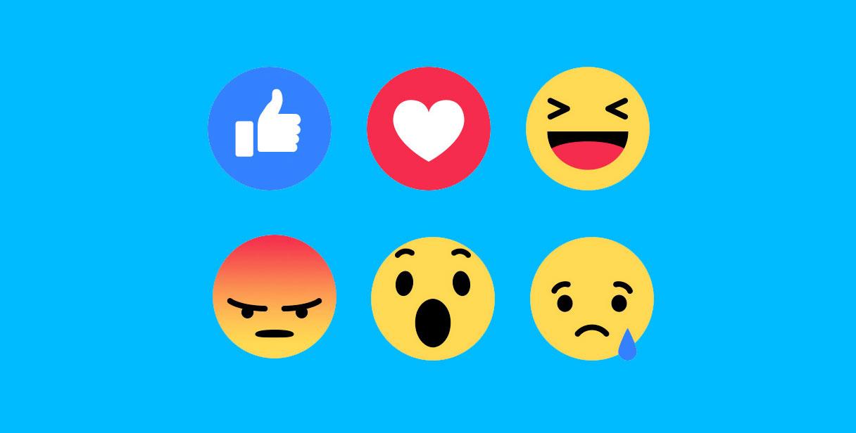 Facebok Reactions