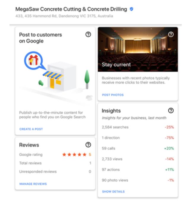 Google My Business Rankings