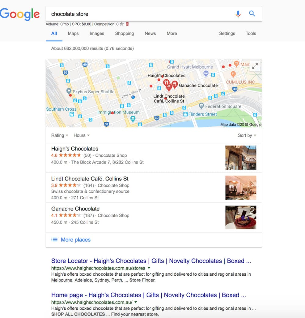 Google Maps Optimisation Melbourne