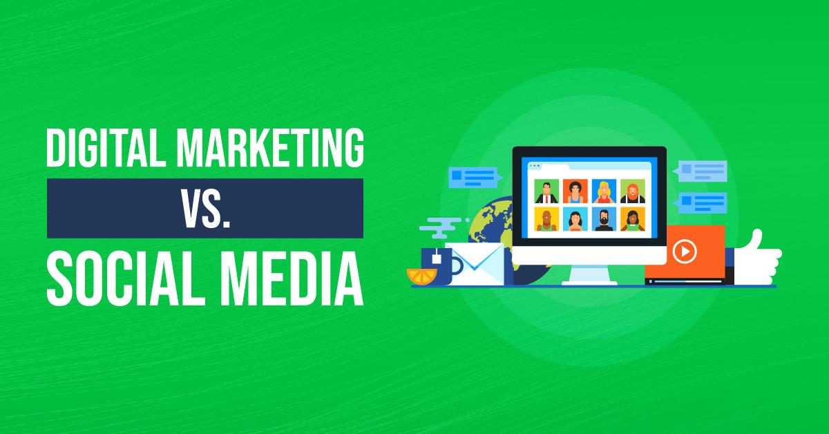 Digital Marketing Vs Social Media | ETRAFFIC