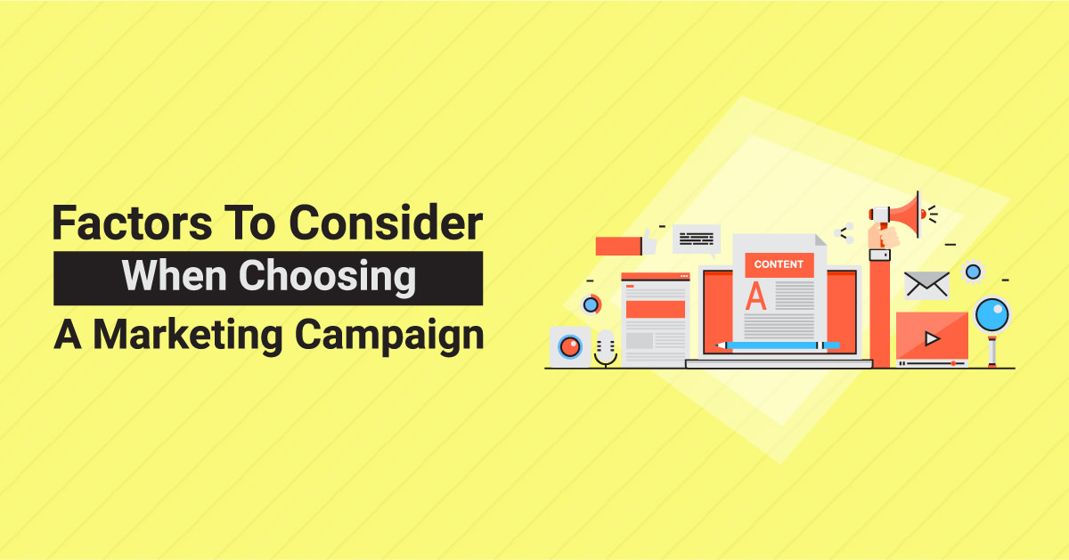 Factors to Consider When Choosing Marketing Campaign | ETRAFFIC