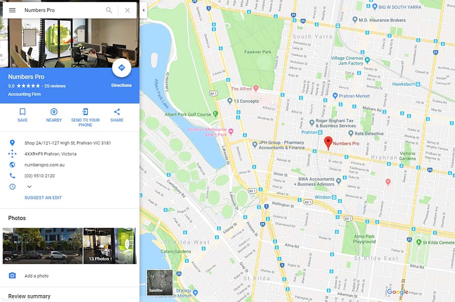Google My Business for Accountants