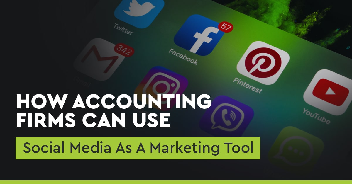 how accounting firms can use social media as a marketing tool