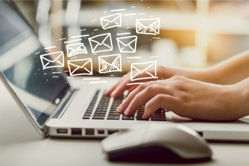 use of email for accountants