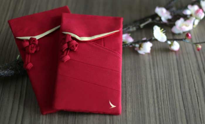 traditional red envelopes given during the Chinese New Year