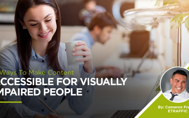 Content Visually Impaired People
