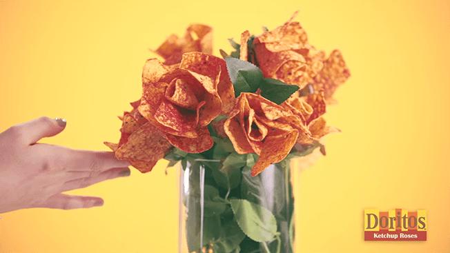 doritos ketchup bouquet